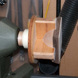 Bowl multi axis jig bowl held by vacuum 2033