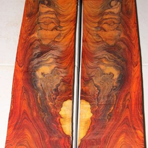Figured Cocobolo Available at http://www.SavageWoods.com