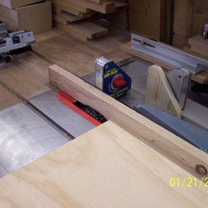100 2338 Making rabbets on the table saw