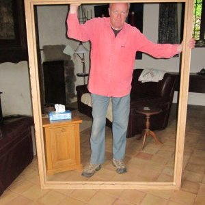 "Bigger than you might imagine - this is the outer frame and I'm 6' 2"" !"