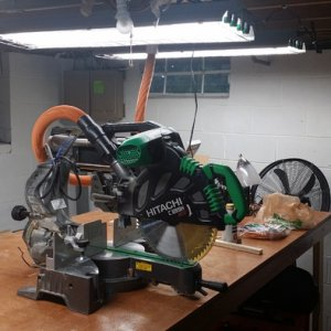 "My 12"" Dual Bevel Sliding Hitachi Miter Saw"