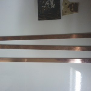 Copper Rod for Side and Back Inlays