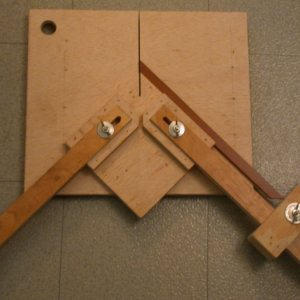 Miter jig with stop
