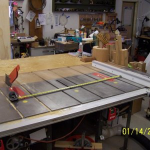 "100 2513 Cross cutting a 4 X 8 panel at 48"" wide"