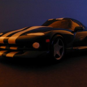 Dodge Viper- popular,stained checkout more Woodknut.com