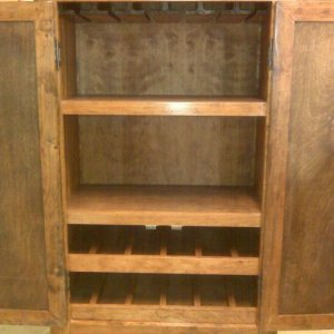 Wine storage cabinet, Cherry