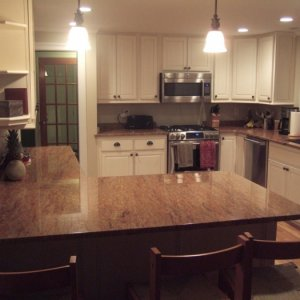Overview of custom Kitchen cabinets