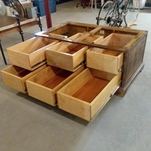 Maple Coffee Table Drawer Construction