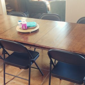 Two leaf dining table