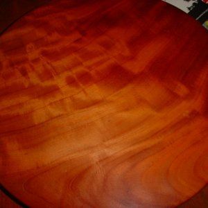 red cedar lazy susan