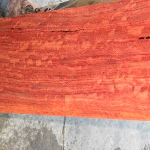 Forest Red Gum Highly Figured,Quarter Sawn