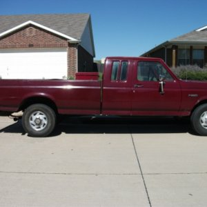 work truck-1989 F250 7.3L diesel 5-speed manual
