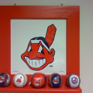 chief wahoo picture frame II
