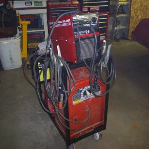 My welding/torching/grinding cart.