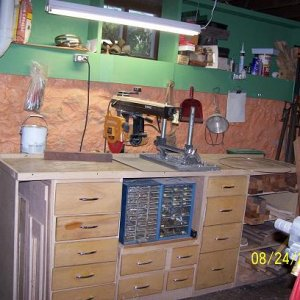 RAS Drawers were from a kitchen I tore out thus are not all uniform.