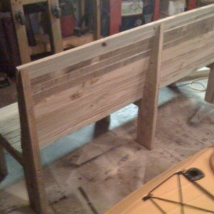 bench for the deck.