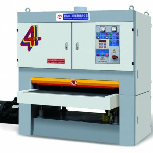 SFE130R-RP(A) This machine is a double-belt sanding machine whose know-how is transferred from Italian DMC company and it is also manufactured under t