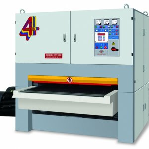 SFE130R-R-RP  This machine is a three-head sanding machine whose know-how is transferred from Italian DMC company and it is also manufactured under th