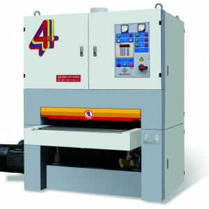 SFE100R-RP  This machine is a double-belt sanding machine whose know-how is transferred from Italian DMC company and it is also manufactured under the