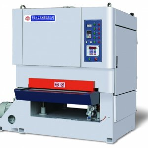 SFE100R-P-P   The machine is used specially for polishing sliced veneer, fitted with sanding roller and polish wheels, and conveyor belt is with vacuu