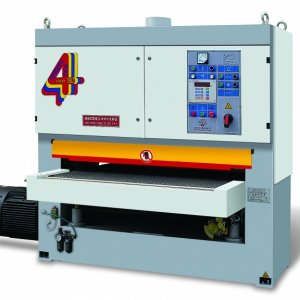 SY130R(A)  This machine is a double-belt sanding machine whose know-how is transferred from Italian DMC company and it is also manufactured under the