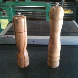 pepper mill complete