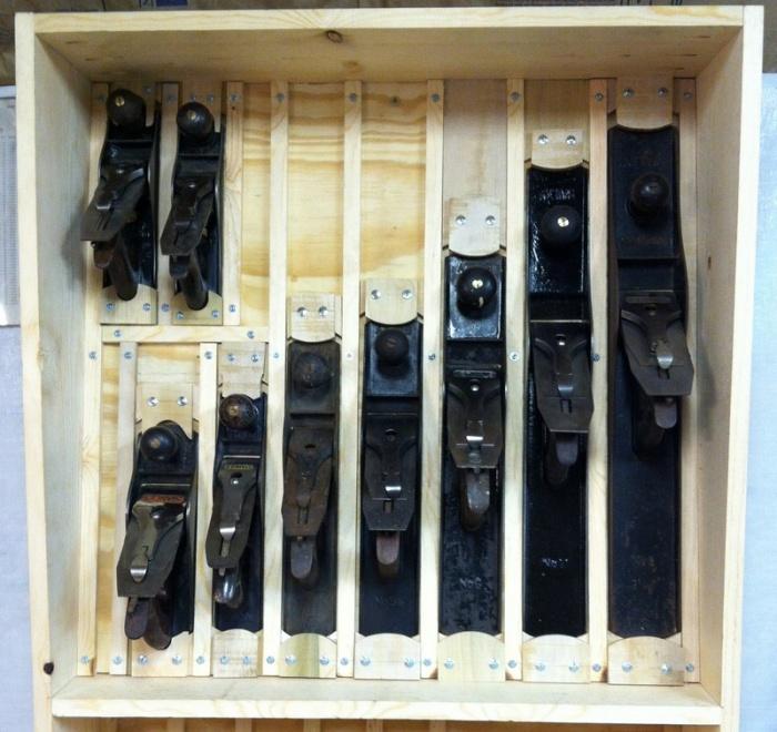 Hand Plane Storage Woodworking Talk Woodworkers Forum