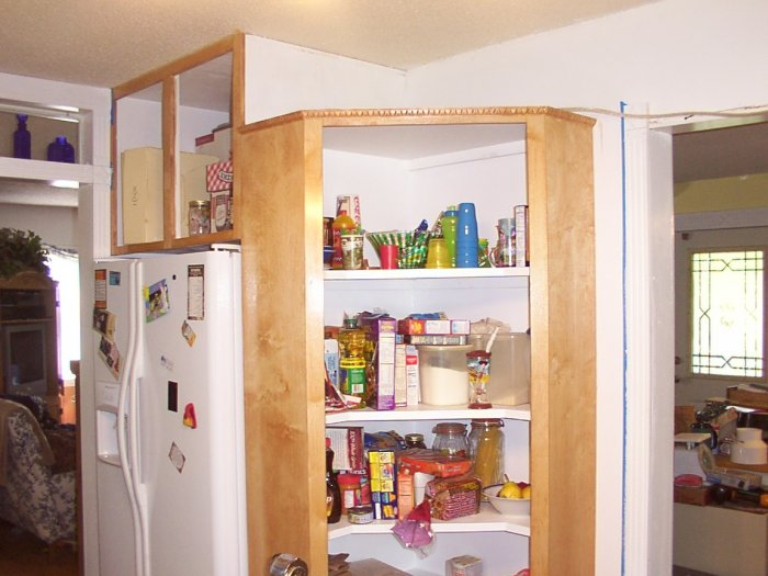 How To Make A Kitchen Pantry Cabinet