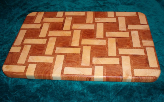 Cutting Board Plans End Grain