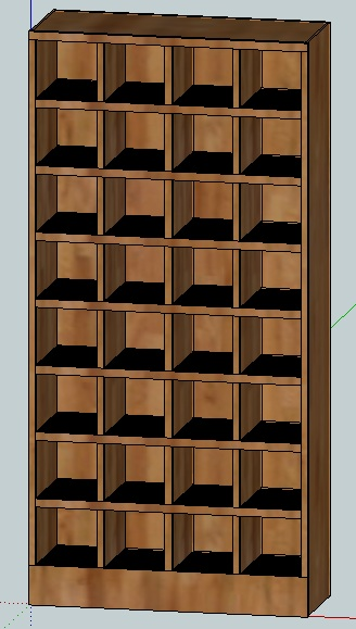 Baseball Hat Display Sketchup Help Woodworking Talk Woodworkers