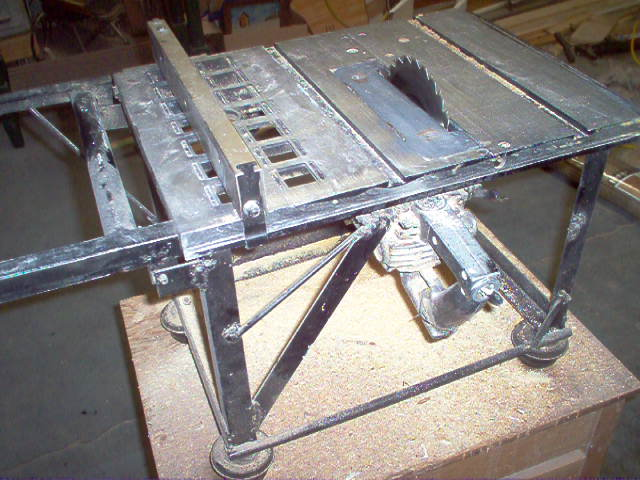 Table Saw Homemade The Best : ... - Woodworkers Forum - bruce55s Album: homemade table saw - Picture