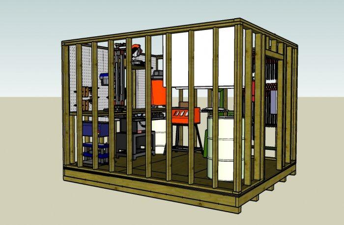 10x12 workshop layoug ideas and Questions    - The SawdustZone
