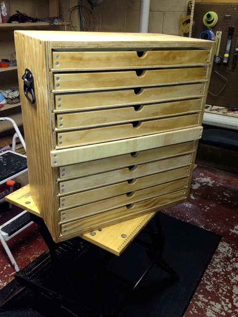 wooden tool cabinet tool chest with trays woodworking talk woodworkers forum